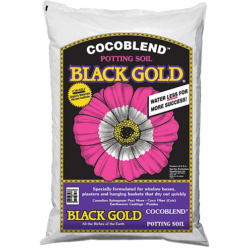 Black Gold 1402030 16 QT U 16 Quart CocoBlend Potting Soil