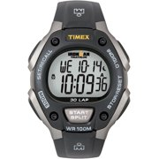 Timex Men's Ironman Classic 30 Full-Size Black/Silver Resin Strap Watch