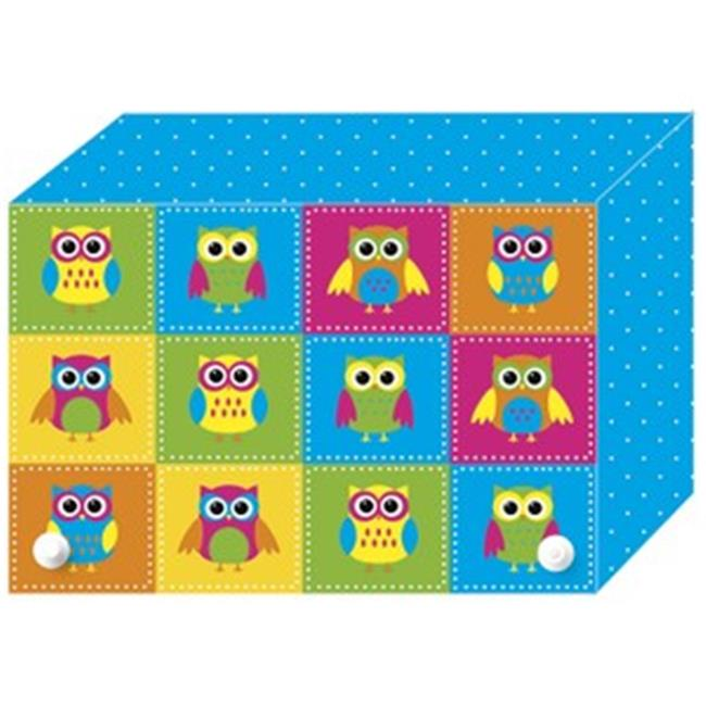 Color Owls Index Card Boxes 4X6in - image 1 of 1