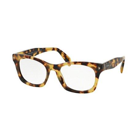 Prada PR11SV-7S01O1 Wayfarer Women\'s Havana Frame Genuine Eyeglasses ...