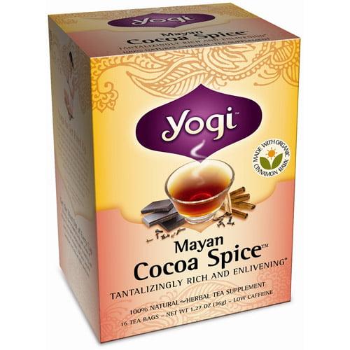 Yogi Mayan Cocoa Spice Tea, 16ct  (Pack of 6)