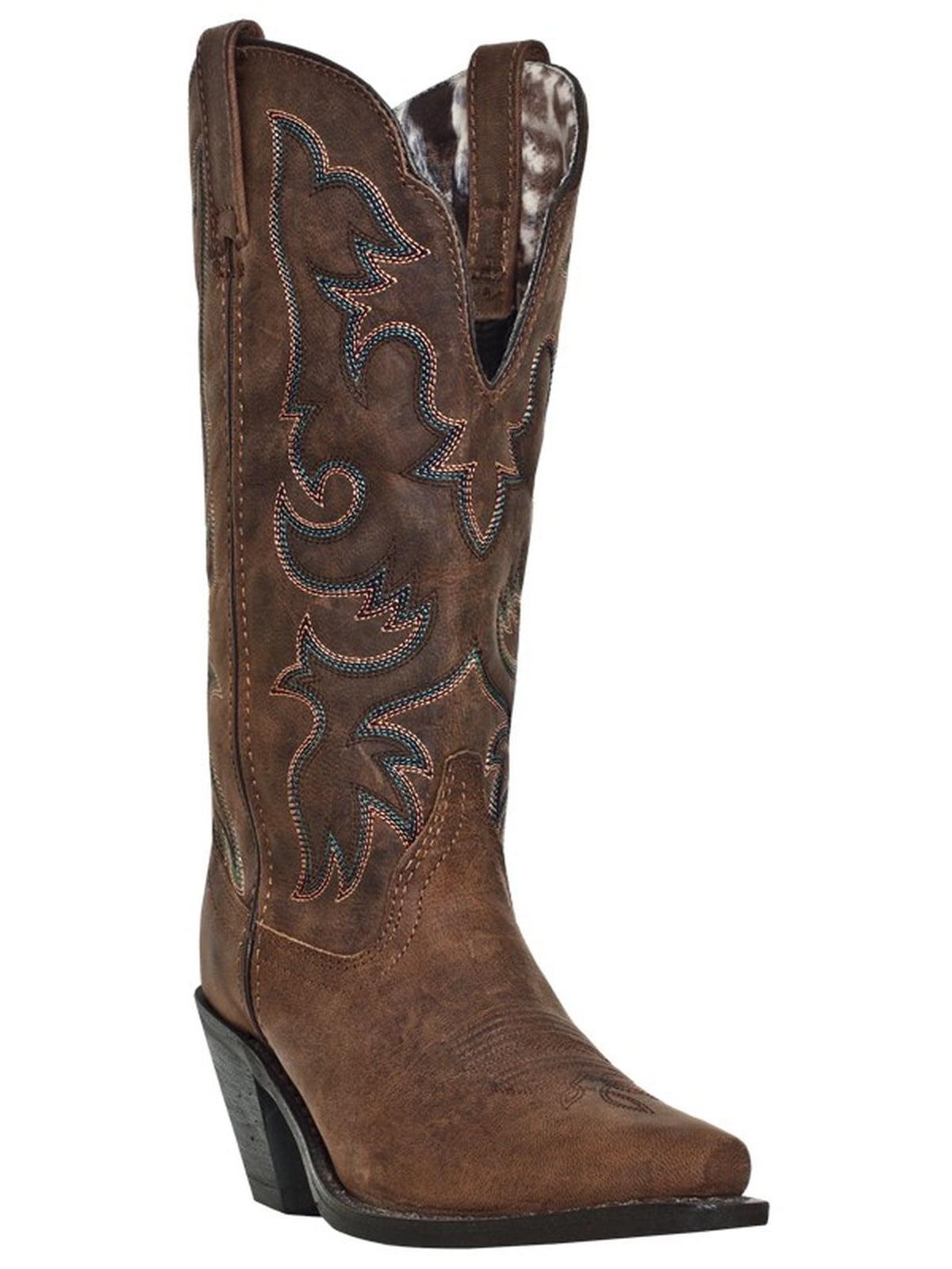 Laredo 51078 Women's Tan Access Vintage Western Boots by Laredo