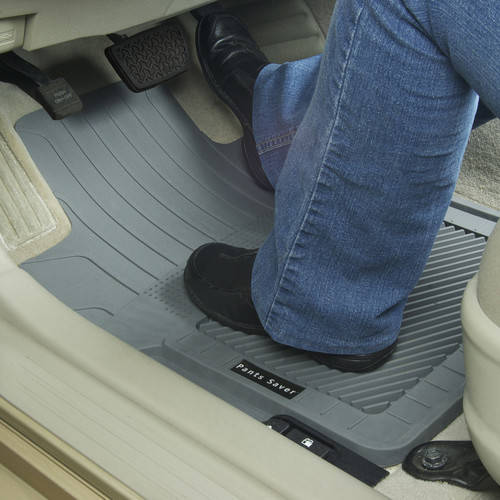 Passenger GGBAILEY D3543A-LSA-BLK/_BR Custom Fit Car Mats for 2006 4 Piece Floor 2007 2010 Ford Explorer Black with Red Edging Driver 2008 2nd /& 3rd Row 2009