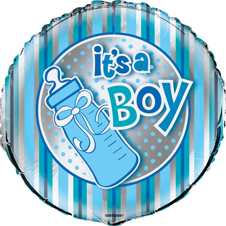 "18"" Foil It's A Boy Baby Shower Balloon"