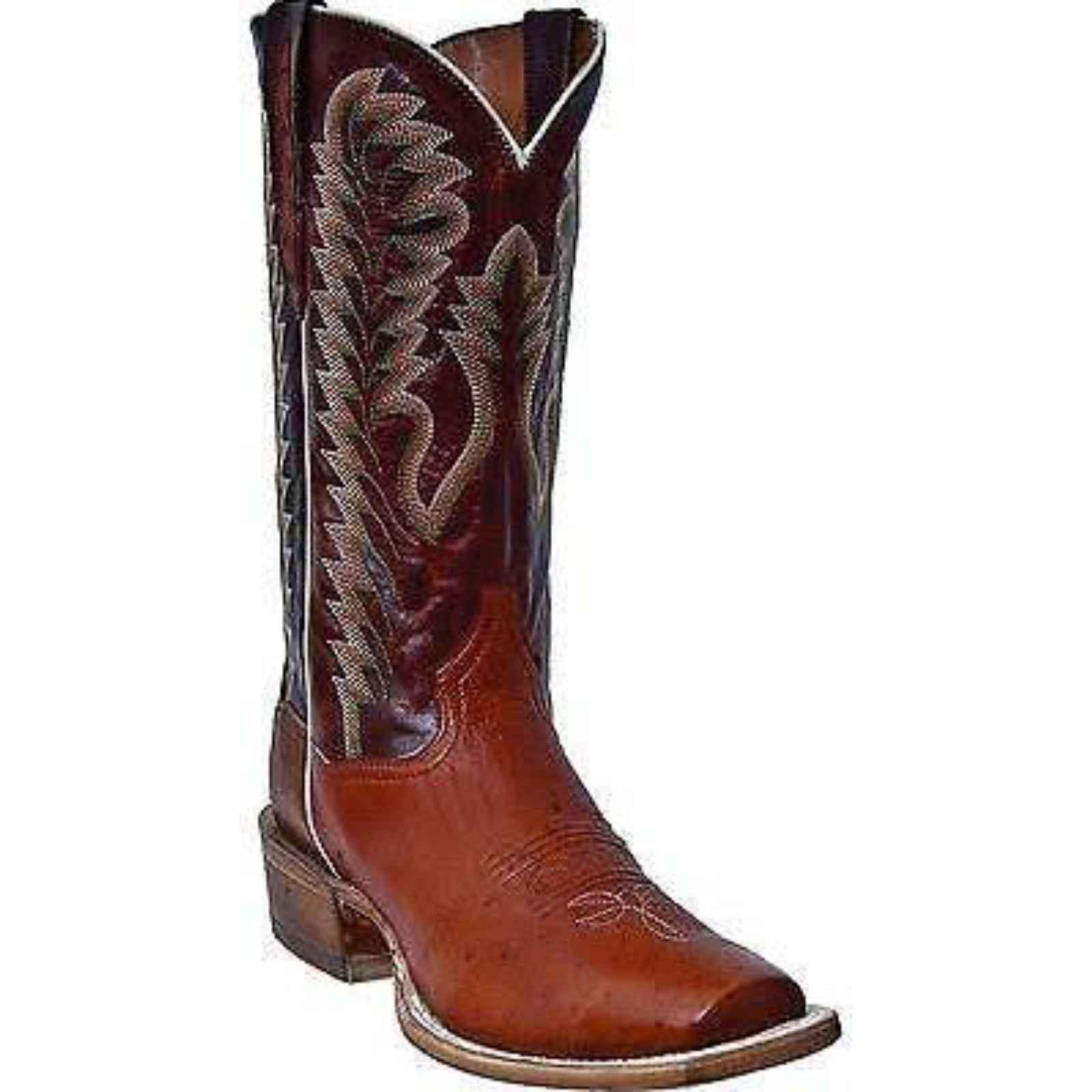 "Laredo 8"" Tan Distressed Round Toe Western Boots, LC2453 by Laredo"