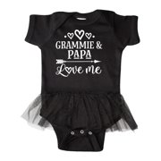 Grammie and Papa Gifts Infant Tutu Bodysuit