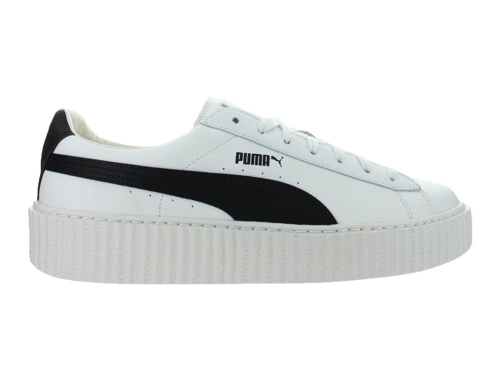 Mens Puma x Fenty By Rihanna Creeper Leather Puma White Puma Black 364 by Puma