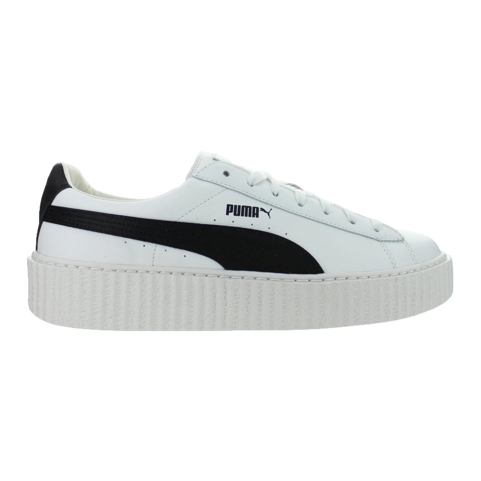 069c91e0bbbf Mens Puma x Fenty By Rihanna Creeper Leather Puma White Puma Black 364
