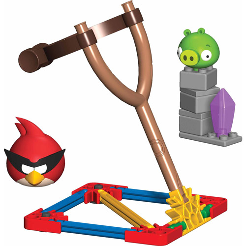 K'NEX Angry Birds Space Building Set: Super Red Bird vs. Small Minion Pig