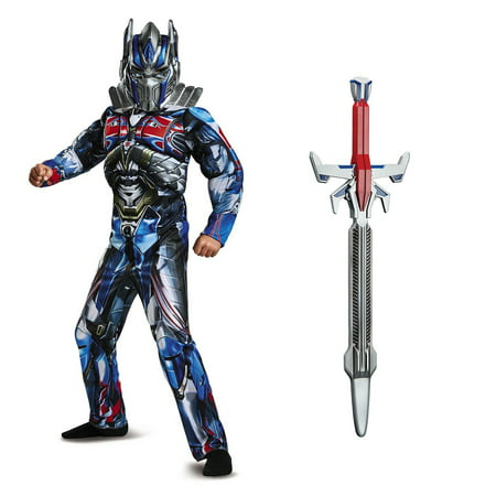 Transformers Optimus Prime Children's Classic Muscle Costume Kit