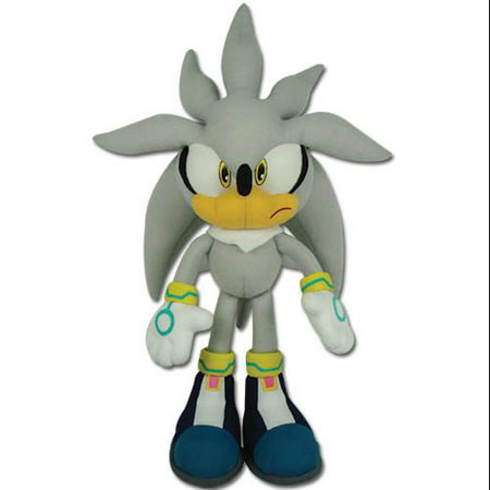 Plush - Sonic The Hedgehog - Silver Sonic Doll Toy New Anime (Best Toys For Hedgehogs)