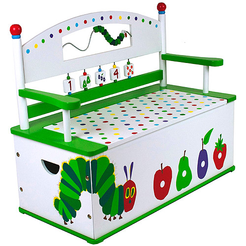 Levels of Discovery The Very Hungry Caterpillar Bench Seat with Storage