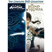 Avatar And Legend Of Korra Complete Series Collection (DVD)