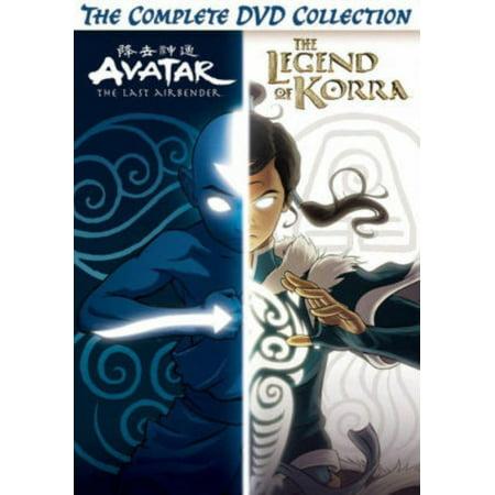 Avatar And Legend Of Korra Complete Series Collection (DVD)](Korra Halloween)