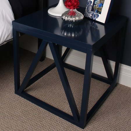Red Barrel Studio Welty Wood Cube End Table