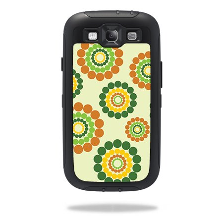 Easy Hippie Outfits (Skin For OtterBox Defender Samsung Galaxy S III S3 Case – Hippie Flowers | MightySkins Protective, Durable, and Unique Vinyl Decal wrap cover | Easy To Apply, Remove | Made)