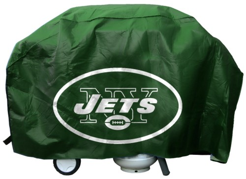 New York Jets Deluxe Grill Cover by Rico