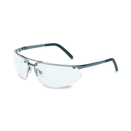 UVEX by Honeywell 11150800 Fuse Safety Eyewear Gunmetal Frame,