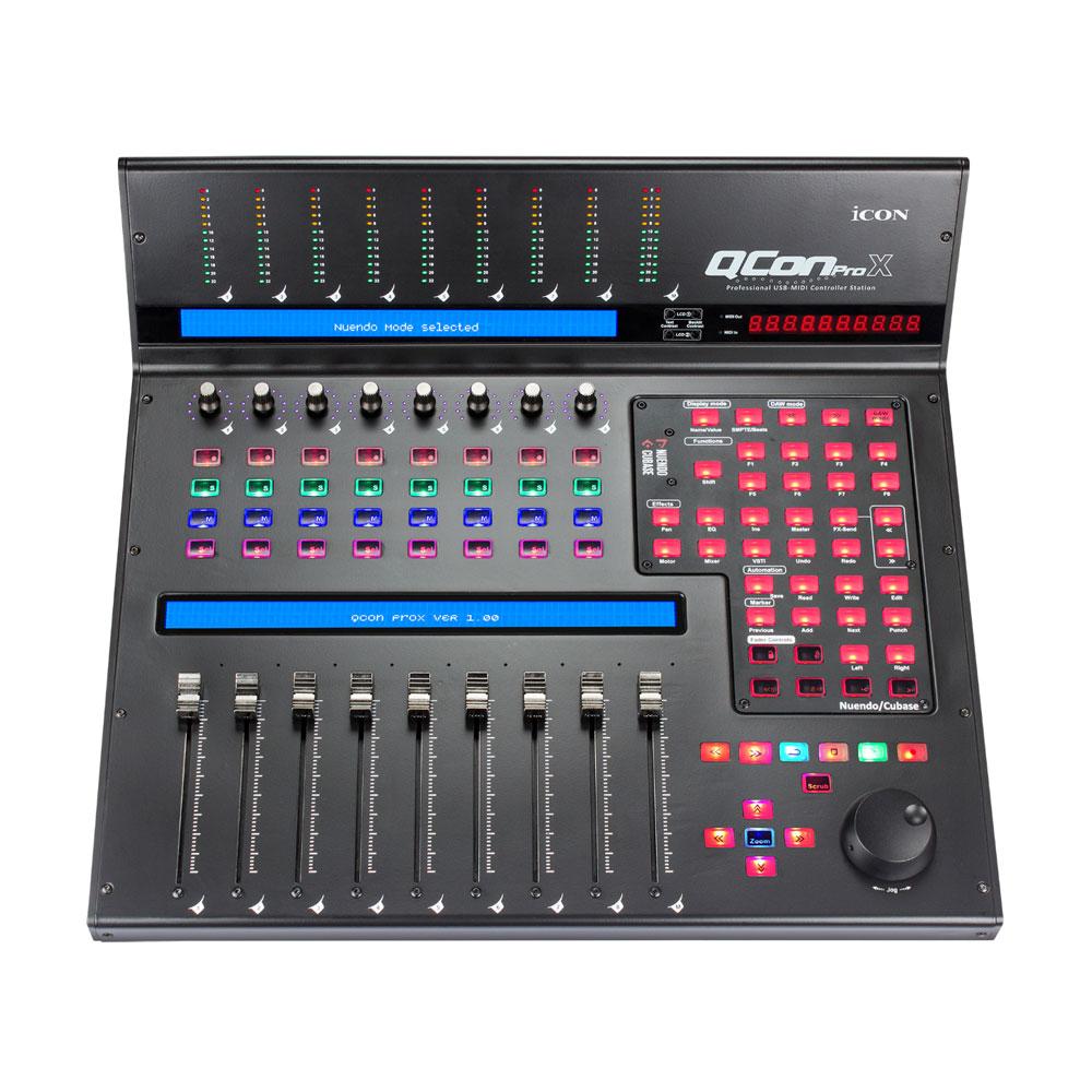 Icon Pro Audio QCon Pro X USB MIDI Control Surface by Icon