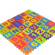 PVCS Baby Foam Play Mat 36pcs 6.1x6.1 Inches Interlock Kid's Floor Puzzle Colorful for Home Decor