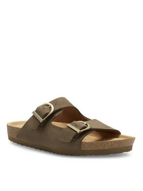 Camden Rock Men's Mitchell Slip-On Buckle Strap Sandals