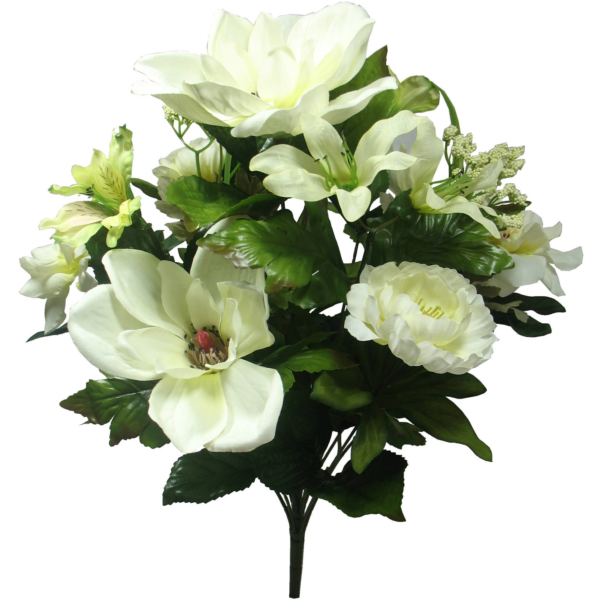 White Magnolia Mixed Bouquet