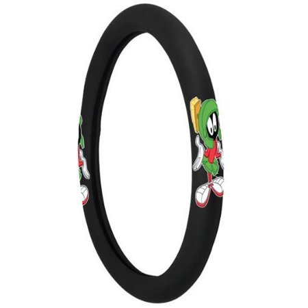 1pc Looney Tunes Marvin the Martian Alien Steering Wheel Cover for Car Suv Truck](Marvin The Martian)