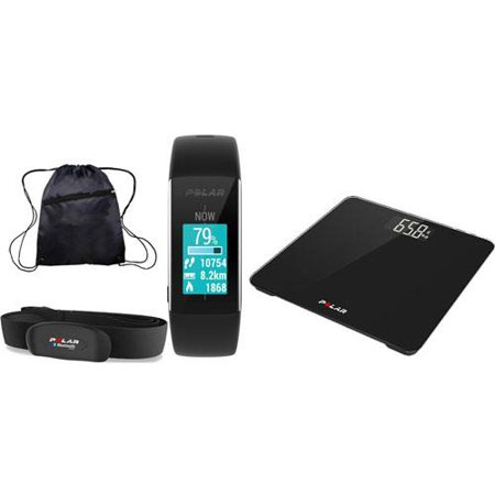 Polar Bmi A360 Balance Complete Fitness Set   Black