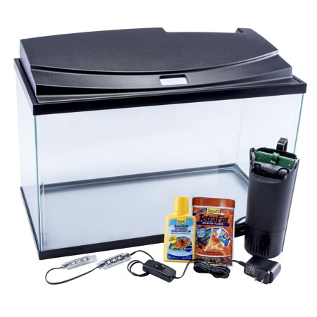 Tetra Goldfish LED Aquarium Starter Kit, 10-Gallon - 10 Gal Propane Tanks