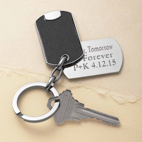 Personalized Remember My Love Key Chain