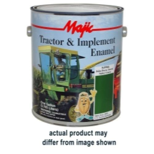 Majic Paints 8-0962-1 Tractor and Implement Enamel - Gallon - Cat Yellow