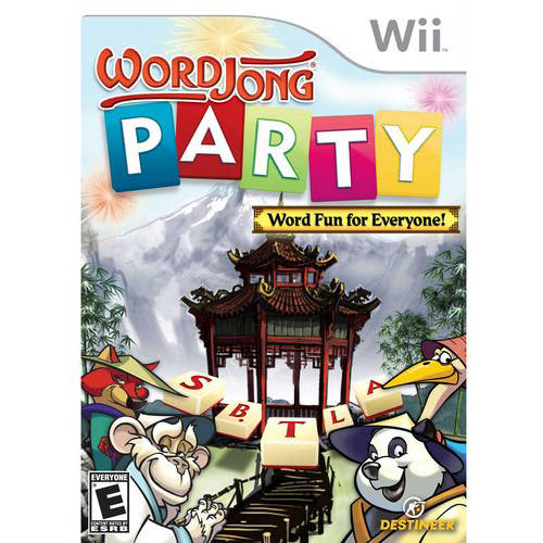 Word Jong- Party (wii) - Pre-owned