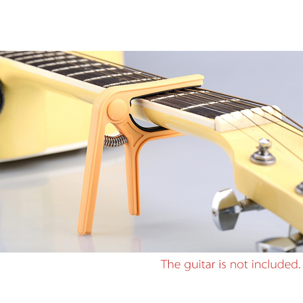 Andoer Single-handed Nylon Guitar Capo Tune Quick Change for Acoustic Classical Electric... by