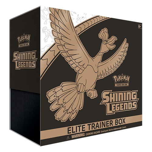 Pokemon Sun & Moon Shining Legends Elite Trainer Box