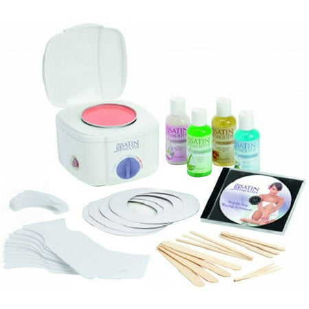 Satin Smooth Professional Single Wax Warmer Kit, (Best Professional Wax For Hair Removal)