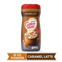 COFFEE MATE Caramel Latte Powder Coffee Creamer 15 Oz. Canister