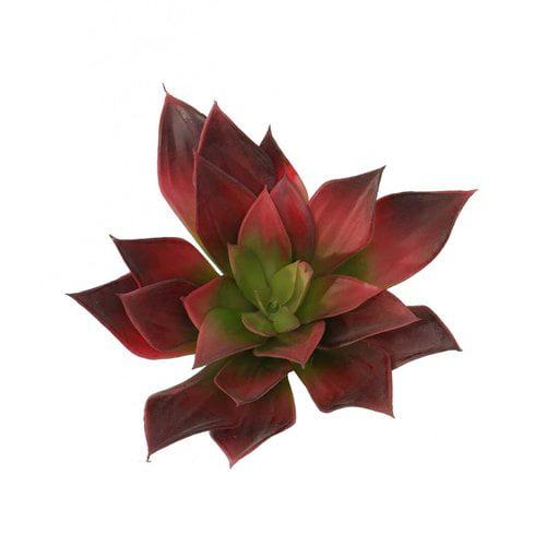 Bungalow Rose Artificial Echeveria Succulent Plant (Set of 2)
