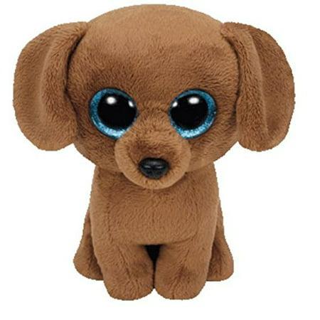 4fc531188b TY Beanie Boo Plush - Dougie the Dog 15cm - Walmart.com