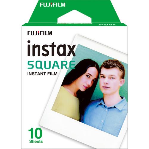 Fujifilm Instax Square Instant Film, 10 Exposures