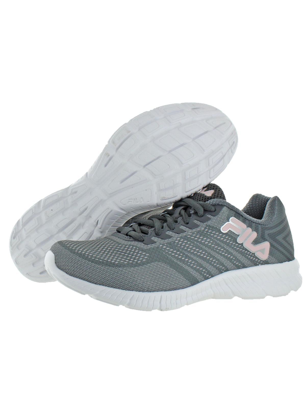 Fila Fila Womens Windracer 3 Breathable Running Shoes Gray