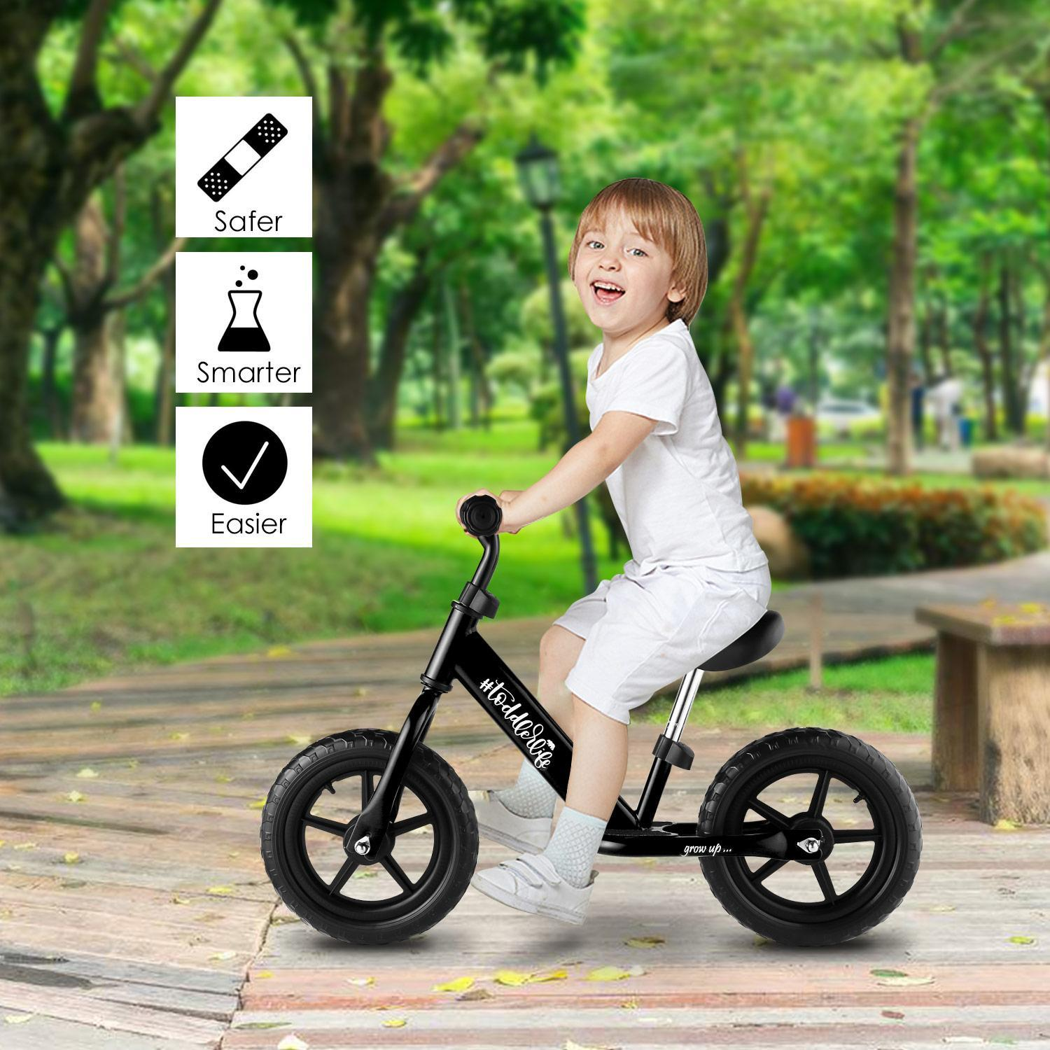 2018 The Newest Baby Balance Bike for Kids Age 3-6 Y/Adjustable Seat and Handle Height-More Suit for Growing Children HFON