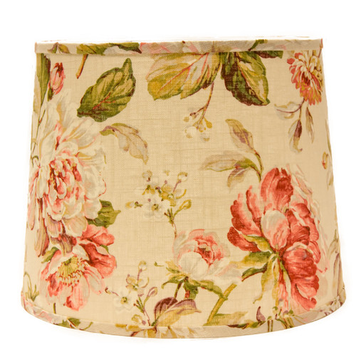 "Image of AHS Lighting 14"" Linen Drum Lamp Shade"