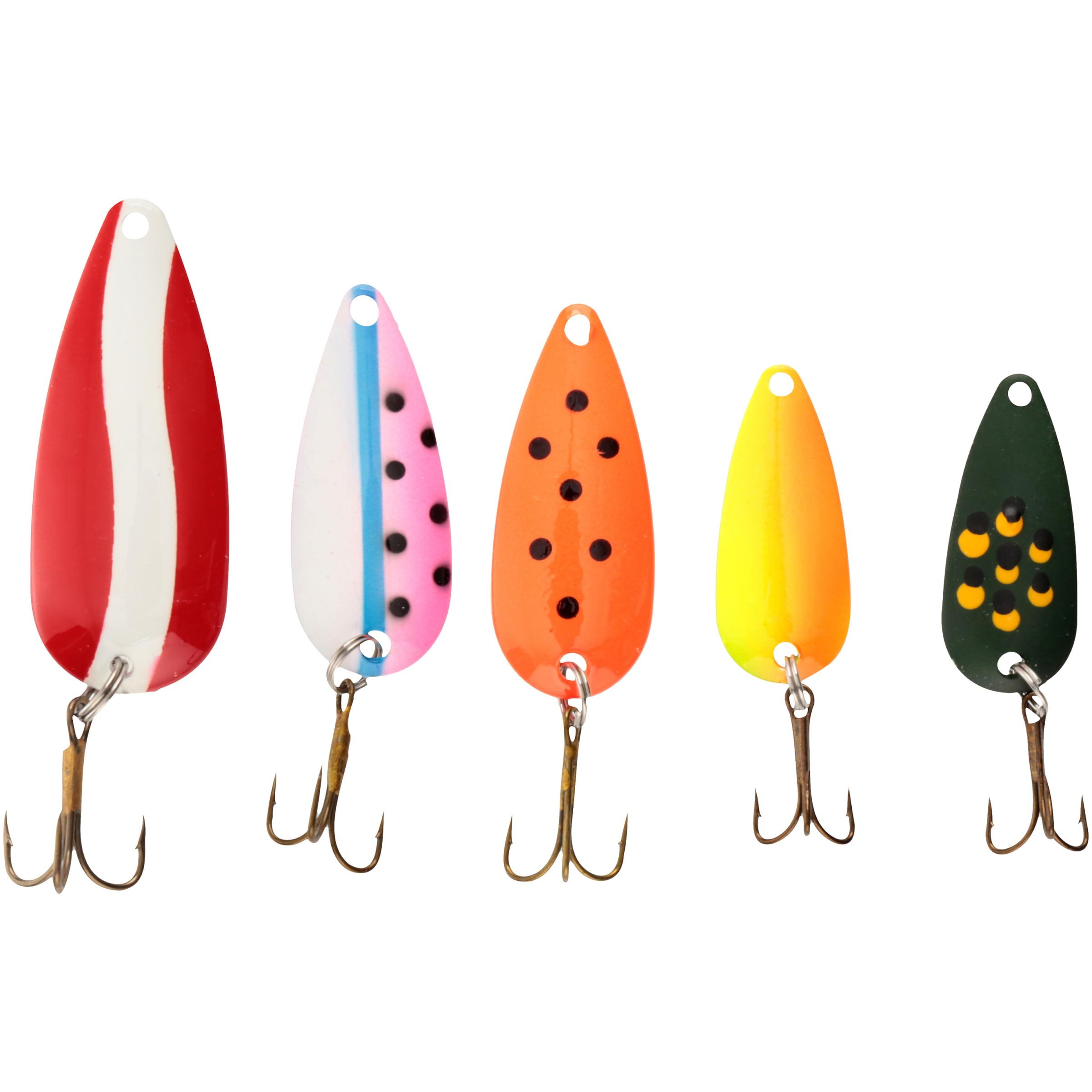 Danielson demon spoons fishing hooks 5 pc