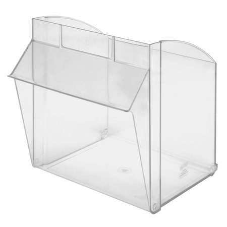 QUANTUM STORAGE SYSTEMS QTB301CUP Repl. Bin Cup for Mfr. No. QTB301,Clear