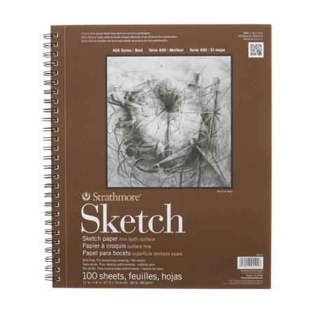 Strathmore Sketch Paper Pad, 400 Series, 11