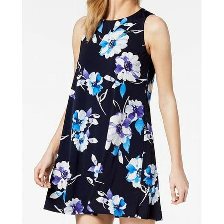 Jessica Howard Womens Floral Print Petite Shift (Jessica Howard Floral Print Dress With Shrug)