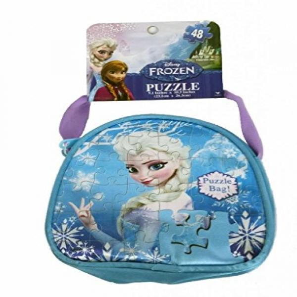 Frozen Carry and Go Fashion Bag Puzzle (48-Piece)Styles Will Vary