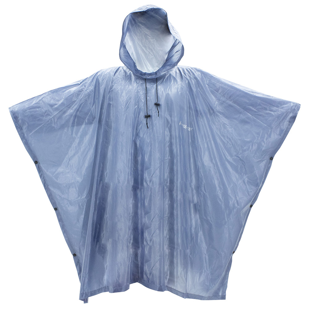 Frogg Toggs Xtreme Lite Poncho Blue, One Size Fits Most