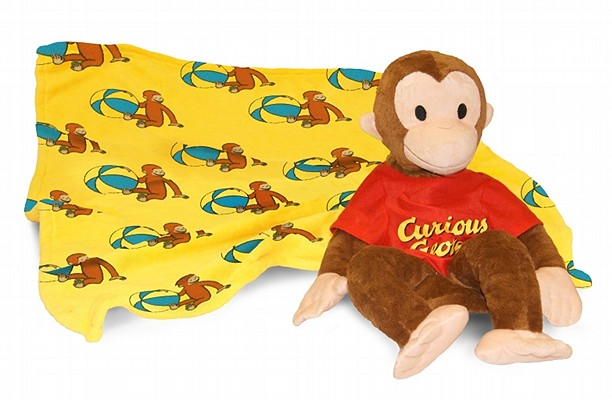 Curious George Plush Blanket by Zoobies