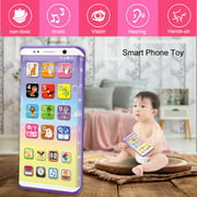 Educational Multifunctional Smart Phone Toy With USB Port Touch Screen for Child Kid Baby , Kid Smart Phone Toy, Musical Smart Phone Toy